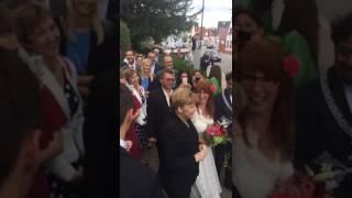 Bundeskanzlerin Crasht Hochzeit In Römerberg