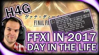 FFXI in 2017 - Farming Tenzen for Plutons! - Twitch Highligh