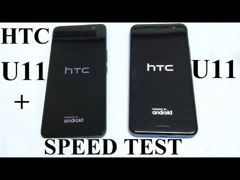 HTC U11+ vs HTC U11 - SPEED TEST