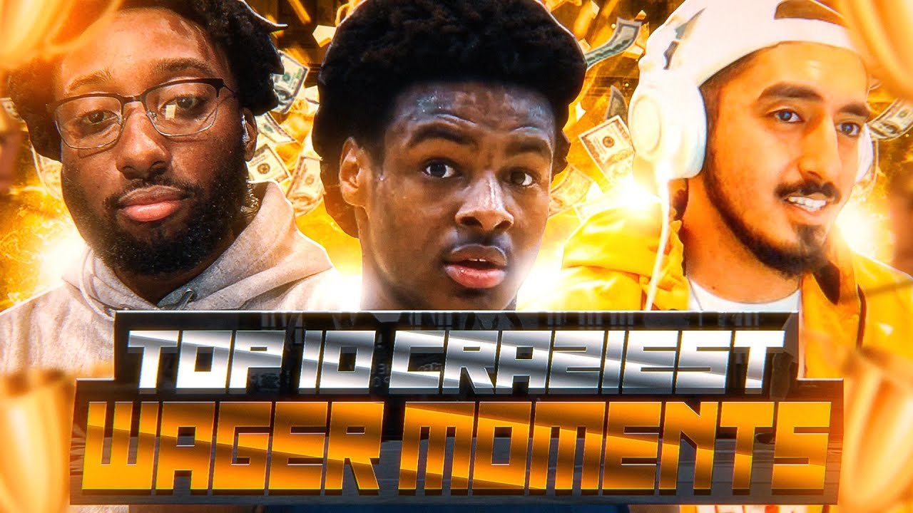 TOP 10 CRAZIEST WAGER MOMENTS IN NBA 2K20!! Ft Tyceno,Annoying,Bronny James