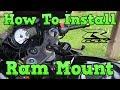 Suzuki GSXR - Ram Mount Installation