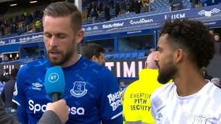 Walcott and Sigurdsson delighted with Toffees victory