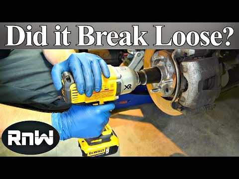 Dewalt 20v High Torque Cordless Impact Wrench Tool Review