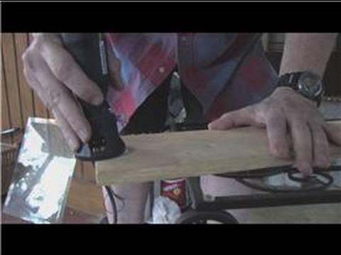 Using a Dremel Tool : Dremel Scroll Saw Tutorial