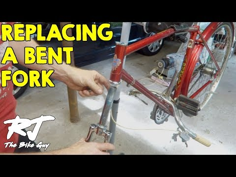 Replacing A Bent Bike Fork