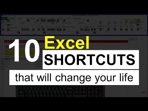 #10 Excel Shortcuts that will change your life | Excel Shortcut keys