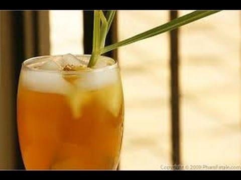 Lemon grass and ginger iced tea**Summer tea