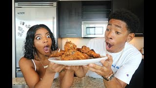 COOKING WITH DK4L | HOW TO MAKE THE BEST FRIED CHICKEN EVER