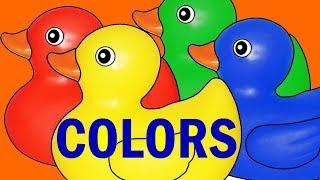 COLOURS   Cartoon Animation Color Songs for Children   Pre - k & Kindergarten Activities