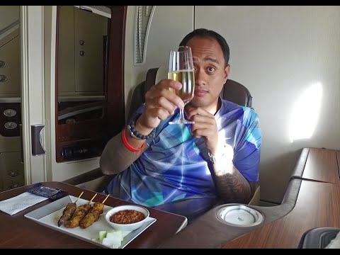 Chapter 16: Backpacker In First Class - Singapore Airlines Suites A380 SIN-DEL (Singapore)