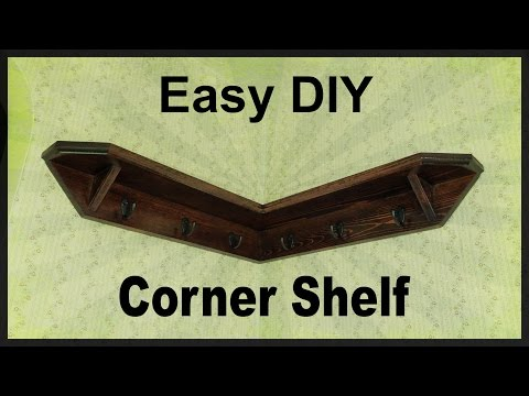 Corner Shelf DIY