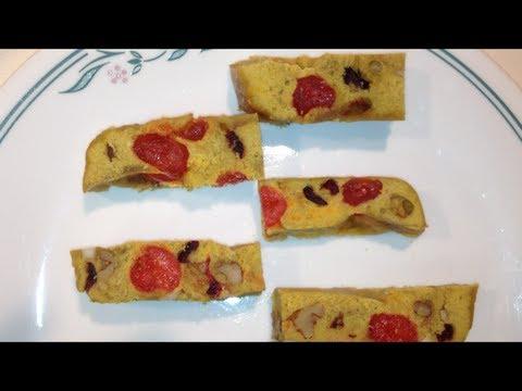 Mini Fruit Cake recipe in Microwave in 2 Minutes