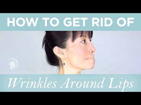 How to Get Rid of Wrinkles Around Lips or Smoke Lines http://faceyogamethod.com/