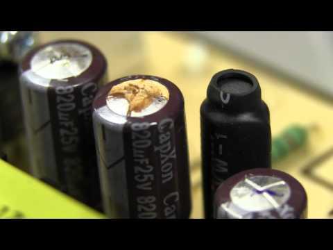 EEVblog #347 - Bad Cap LCD Monitor Repair