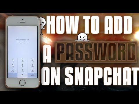 NEW How To Set A PASSCODE On SNAPCHAT ! iOS 9 / 10 / 11 (No Computer / No Jailbreak)
