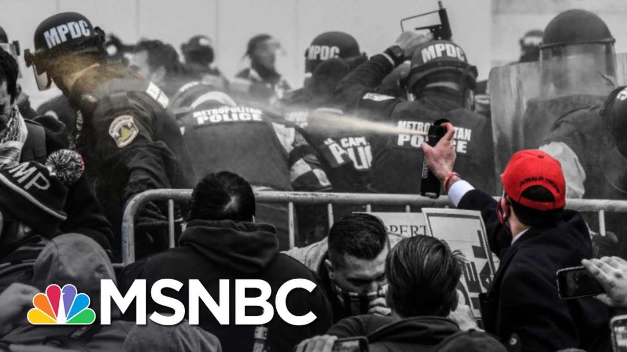 Too Much Or Not Enough? Securing Biden Inaugural After Capitol Riot | The 11th Hour | MSNBC