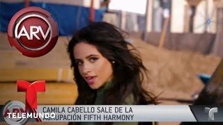 """Camila Cabello abandona """"Fifth Harmony""""   Al Rojo Vivo   Telemundo"""