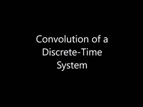 Convolution for a Discrete-Time System