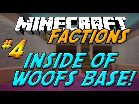 CosmicPVP EP.4- INSIDE OF WOOFS BASE!!! - Minecraft Factions