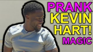Kevin Hart Reacts 😂 To Jibrizy Painful Trick! (prank)