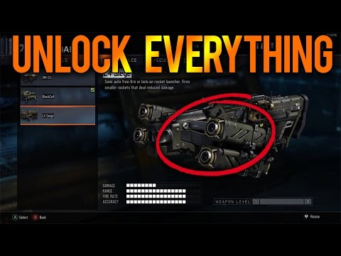 UNLOCK ALL DLC WEAPONS FOR FREE! BLACK OPS 3 UNLOCK EVERY DLC WEAPONS / GUNS FOR FREE (BO3 Glitch)