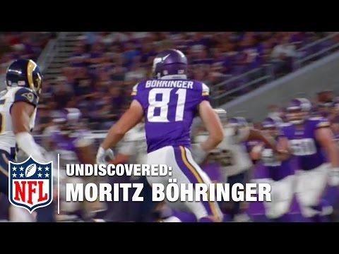 Moritz Böhringer with the Minnesota Vikings | NFL Undiscovered