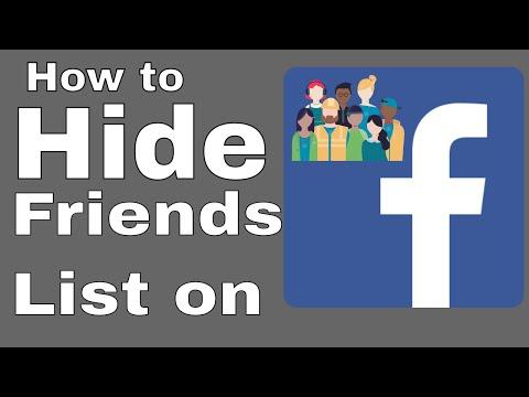 How To Make Private (Hide) Facebook Friends List in [UrduHindi] - MUB