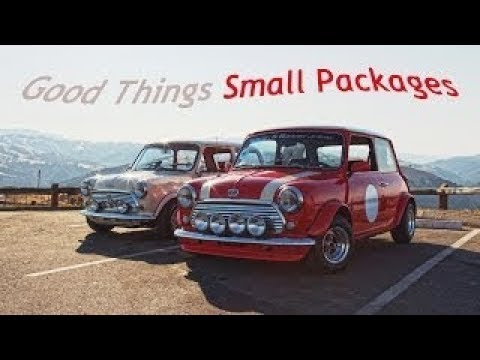 Driving a classic Mini for the first time