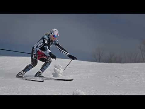 Skiing on the edge