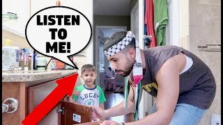 IGNORING 3 YEAR OLD BABY FOR 24 HOURS!!! **PRANK**