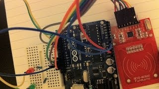 How to Interface RFID with Arduino Uno - Circuit