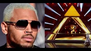 CHRIS BROWN PRETENDS TO BE INNOCENT!