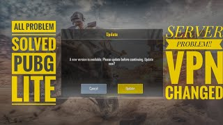 HOW TO FIX SERVER PROBLEM ON PUBG MOBILE LITE NO ROOT