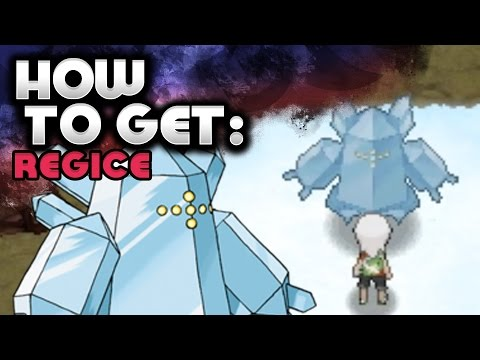 How to Catch Regice – Pokemon Omega Ruby and Alpha Sapphire