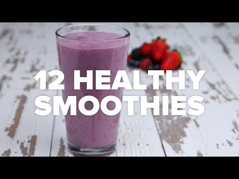 12 Healthy Smoothies