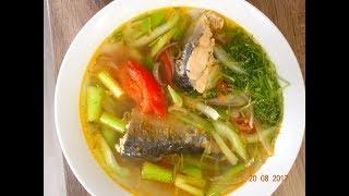 Canh Cá nấu Cà Cần - Cách nấu Canh Cá không bị tanh - Canh Cá nấu ngót by Vanh Khuyen
