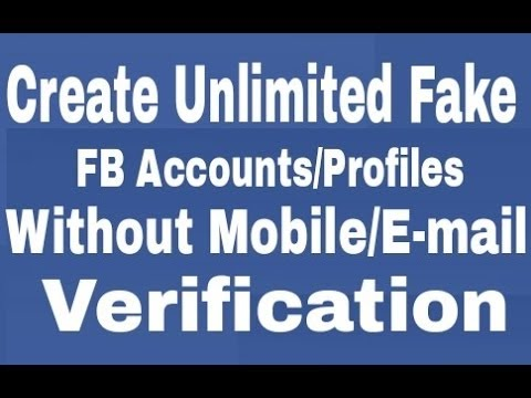 How to make Facebook Account Without Email & Phone number 2016