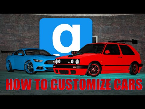 GMOD: HOW TO CUSTOMIZE YOUR CAR IN-DEPTH! (Tyre Smoke, Underglow, and MORE!)