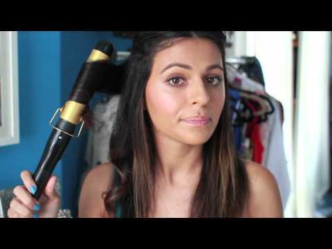 Hair Tutorial! How I Curl My Hair | How To Hairstyles & Hair Tutorials | Teni Panosian