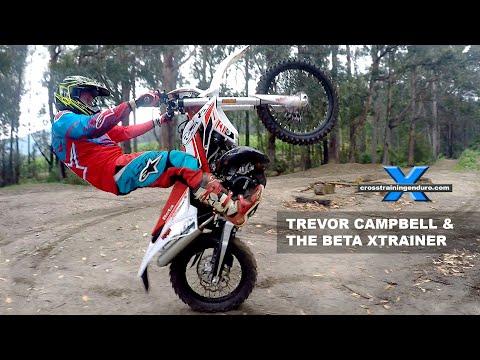 TREVOR CAMPBELL'S AWESOME DIRT BIKE SKILLS Cross Training Enduro