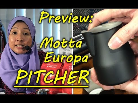 Preview : Motta Europa Pro Series (Barista Tools for Latte Art)