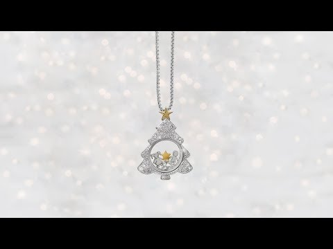 Origami Owl Christmas Tree Locket