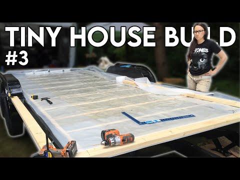 Subfloor Sheathing & Vapour Barrier (Tiny House Build - Episode 3)