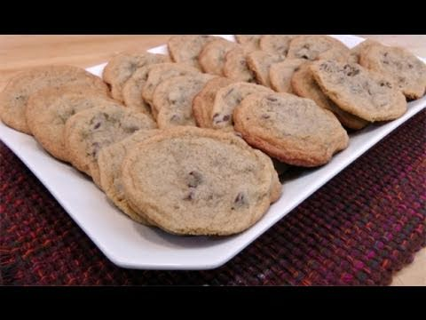 How to Make Chocolate Chip Cookies from Scratch - Laura Vitale - Laura in the Kitchen Episode 64