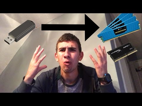 Turning a usb drive into ram
