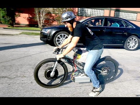 Is this the world's fastest electric bike?