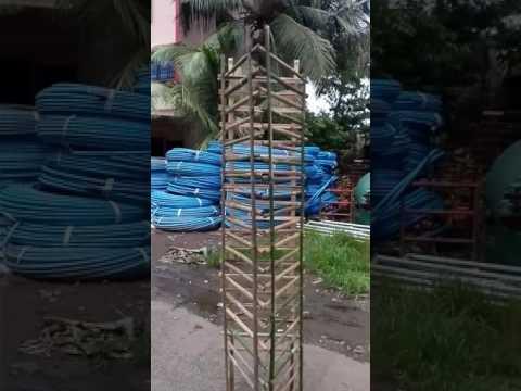 Bamboo tree guards.. Western engineering, Pen