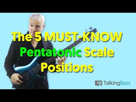 The 5 MUST KNOW Pentatonic Scale Positions