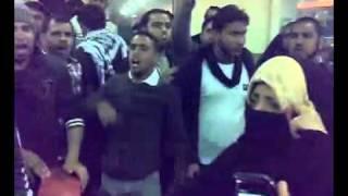 #x202b;كلمة أم الشهيد البحريني  مع صرخات الثائرين#x202c;lrm;