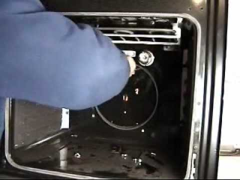 How to replace Cannon fan oven element